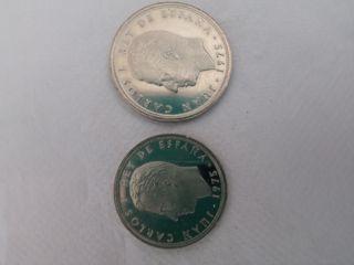 monedas del rey.1975.