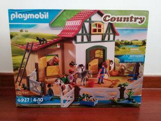 Playmobil Country Granja de ponis