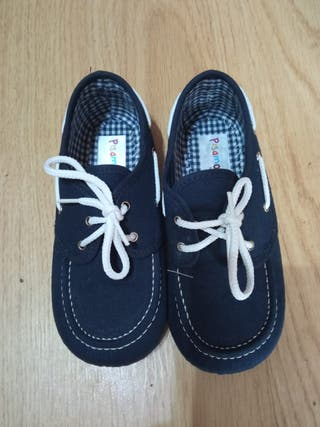 Zapatos mocasines niño talla 26, marca pisamonas