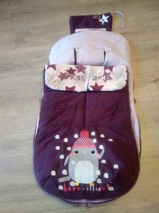 Saco invierno para silla bebé