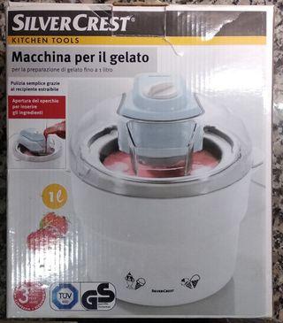 Maquina para hacer helado. Silvercrest