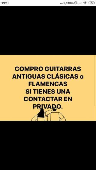 estoy interezado una guitarras flamenca