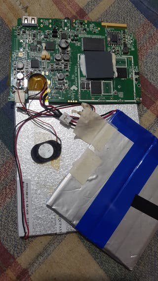 placa base y pantalla táctil de tablet de 7 pulgad