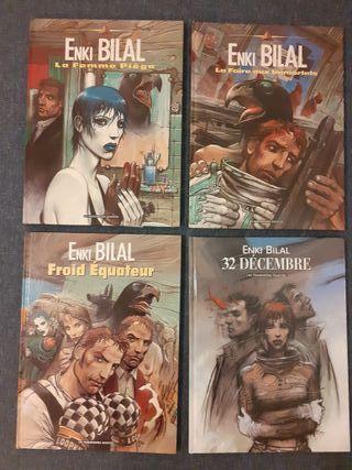 Lote 4 tomos Enki Bilal originales (en francés)