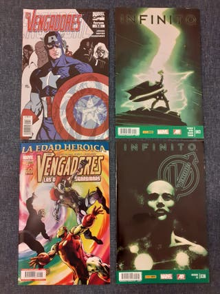 Lote cómics Vengadores / Infinito Fórum-Panini
