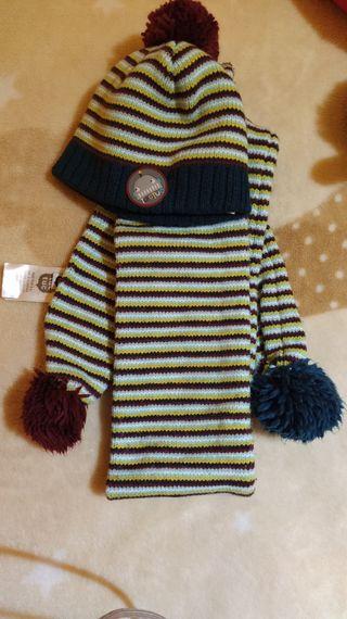 bufanda y gorro tuc tuc