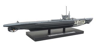 Precioso submarino alemán U-214 1:1350