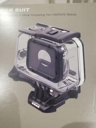 Carcasa GoPro 5 para buceo hasta 60m