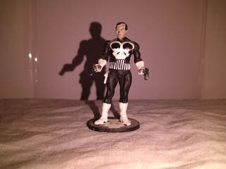 Figura de plomo The punisher tm marvel 2004