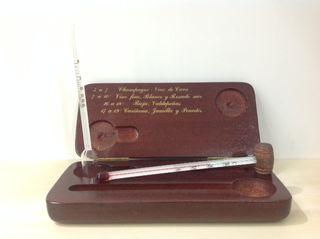 Termómetro de vino con pipeta