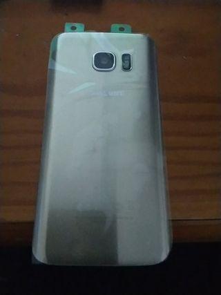 tapa Samsung s7 g930 dorada