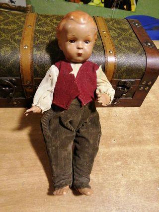 Antigua muñeca principios siglo 20