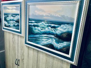 2 cuadros de marinas