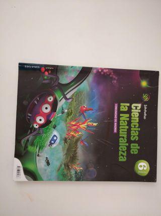 Libro Ciencia Naturales 6ºEdelvives Superpixepolis