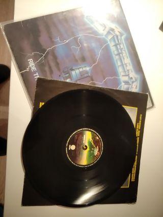 "Disco LP Metallica ""Ride the Lightning"""