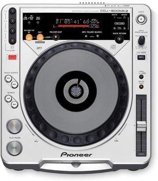 Pioneer cdj-800mk2Professional Turntable de CD/MP