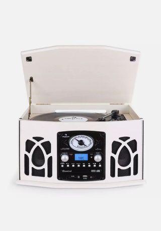 TOCADISCOS GRABADOR REPRODUCTOR CD MP3 USB SD RADI