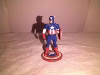 Figura de plomo Capitan America tm marvel 2004