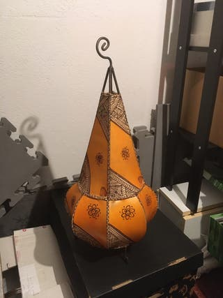 Lámpara de pie marroquí decorativa