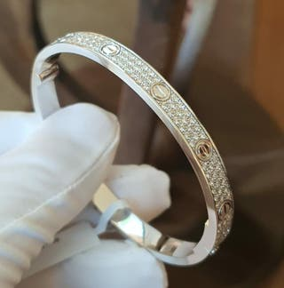 brazalete estilo Cartier bangle