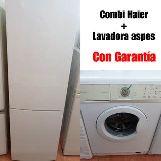 Combi Haier + Lavadora aspes