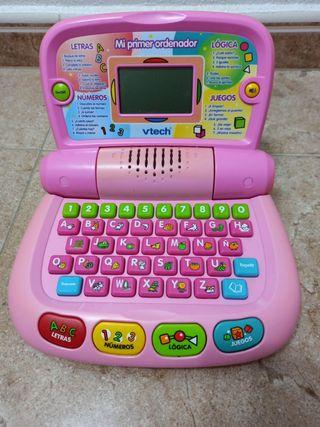 Mi primer ordenador vtech. 10€