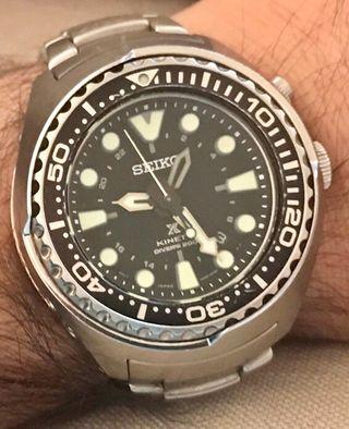 Reloj SEIKO PROSPEX KINETIC Submarinismo