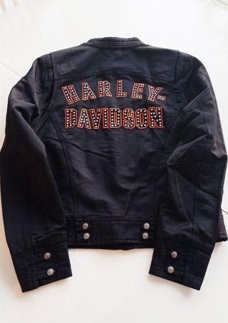 chaqueta cordura Harley chica