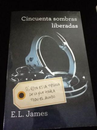 libro cincuenta sombras liberadas
