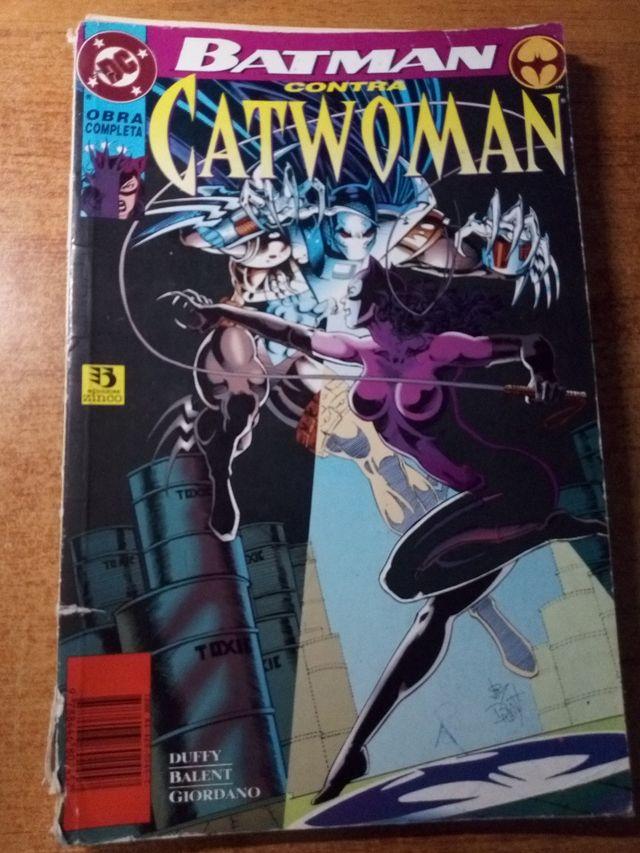 Batman contra catwoman obra completa DC