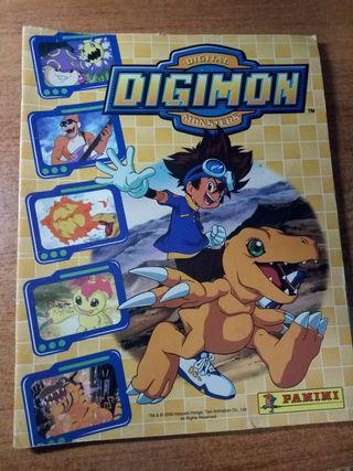 Album de cromos Digimon Panini