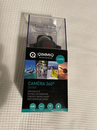 """Cámara de realidad virtual Quimmiq Dv 360 4K""""NUEVA"""