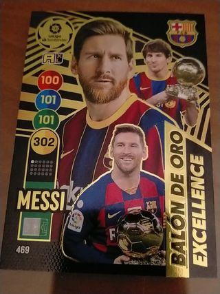 Messi balón de oro excelente