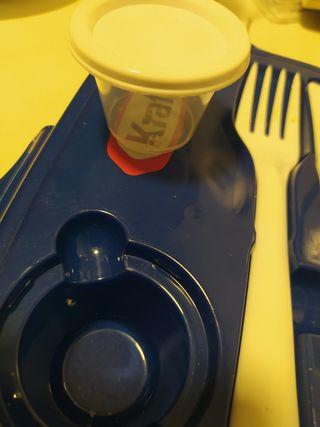 tupper porta alimentos