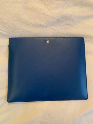 Rare Ettore Bugatti Leather Tablet Case