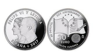 Moneda de plata de 30€
