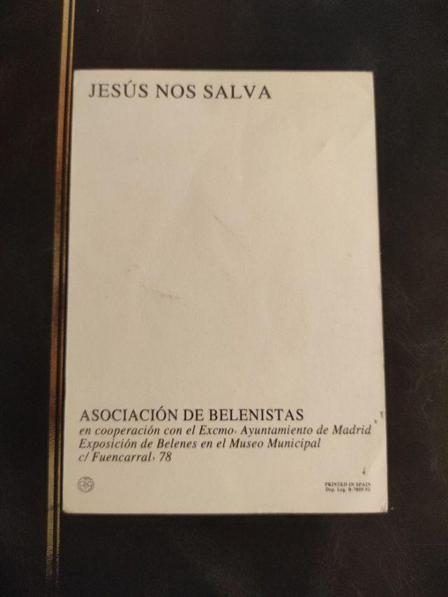 Tarjeta postal religiosa