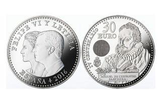Moneda de plata de 30€.