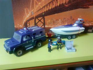 playmobil policía 5187