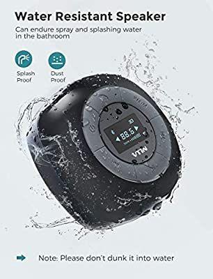 VTIN Mini Altavoz 5W Baño-Ducha Bluetooth NUEVO