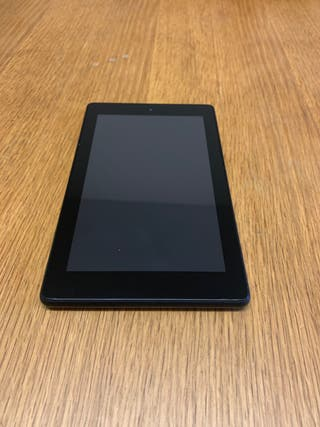 """Fire 7 Tablet, 7"""" Display 16GB Black, WITH ADS"""