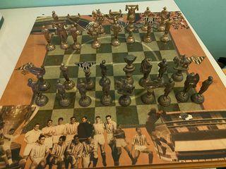 Tablero de ajedrez del Betis