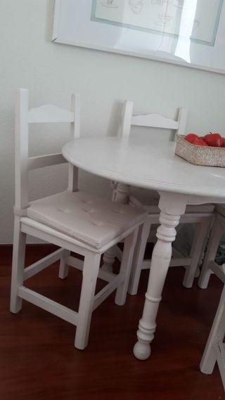 Mesa y sillas comedor-cocina