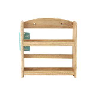 2 Tier Wooden Spice Rack