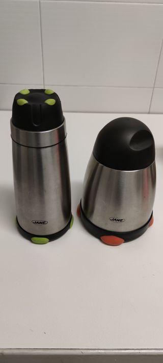 2 termos para líquido y sólido de la marca Jane