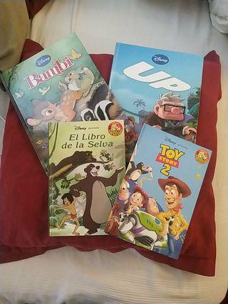 lote 4 cuentos Disney Toy Story libro Selva