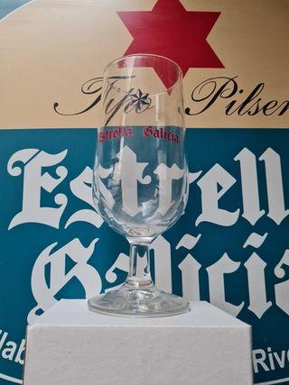 Copa cerveza Estrella Galicia