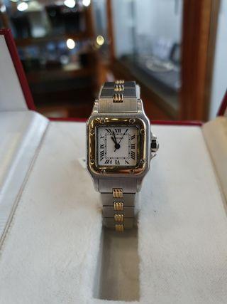 Reloj unisex Cartier Santos Vintage
