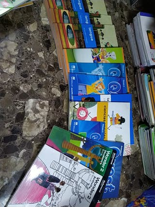 lote libros segundo primaria sm saba