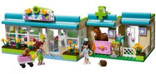 Clínica veterinaria de Lego Friends